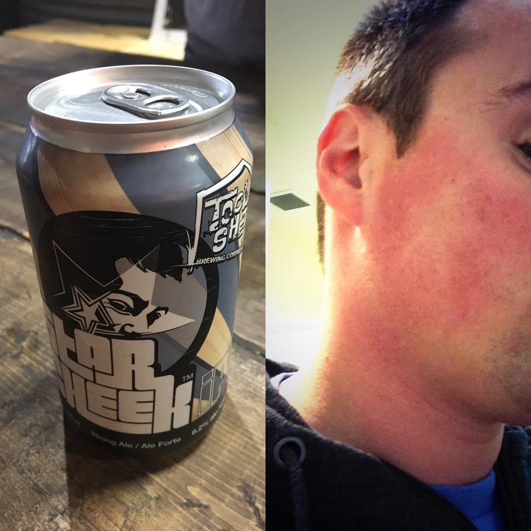 Best IPA in Calgary Toolshed Brewing Star Cheek IPA