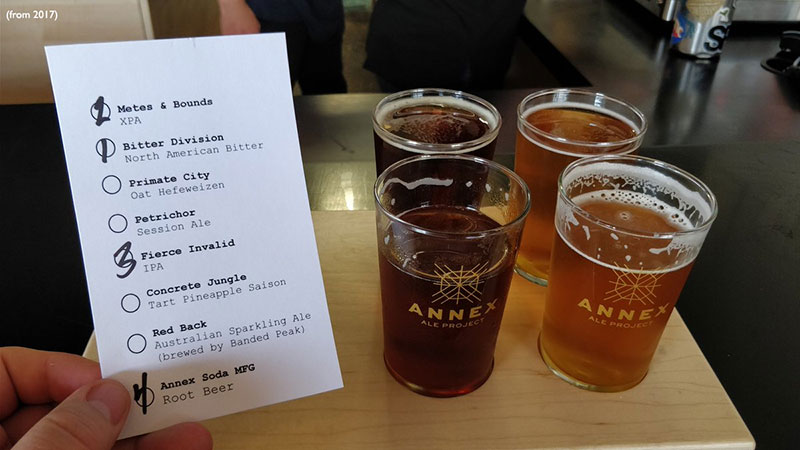 breweries in Calgary Annex Ales