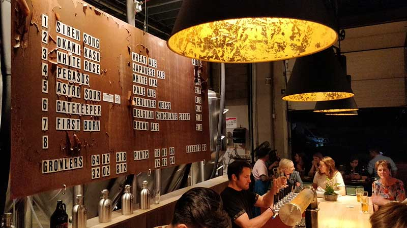 breweries in Calgary Ol Beautiful