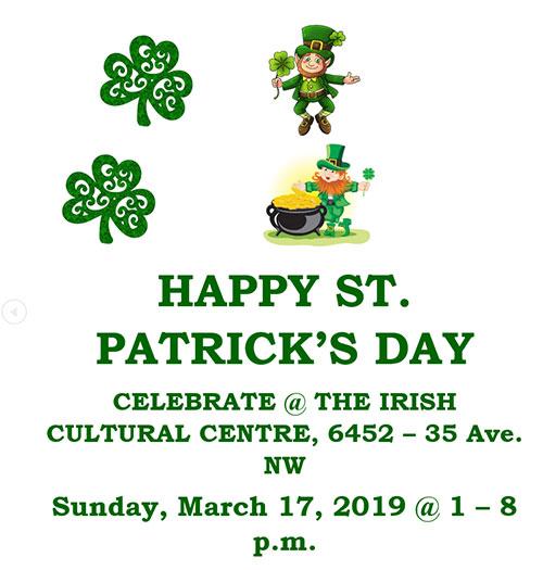 St. Patrick's Day Calgary