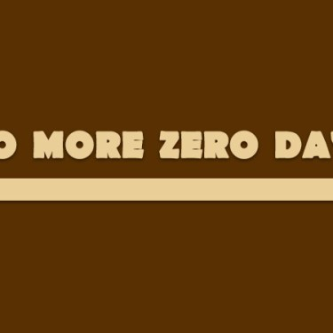 No more zero days! Following these 4 rules could change your life