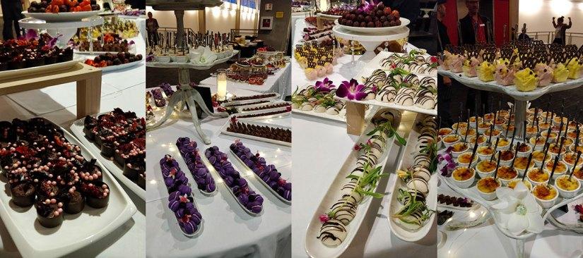 Half Your Plate Chefs Dinner Desserts