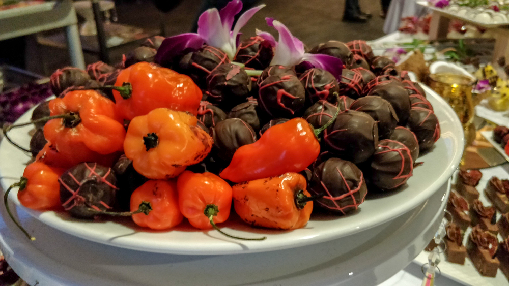 Half Your Plate Chefs Dinner Peppers and Chocolate