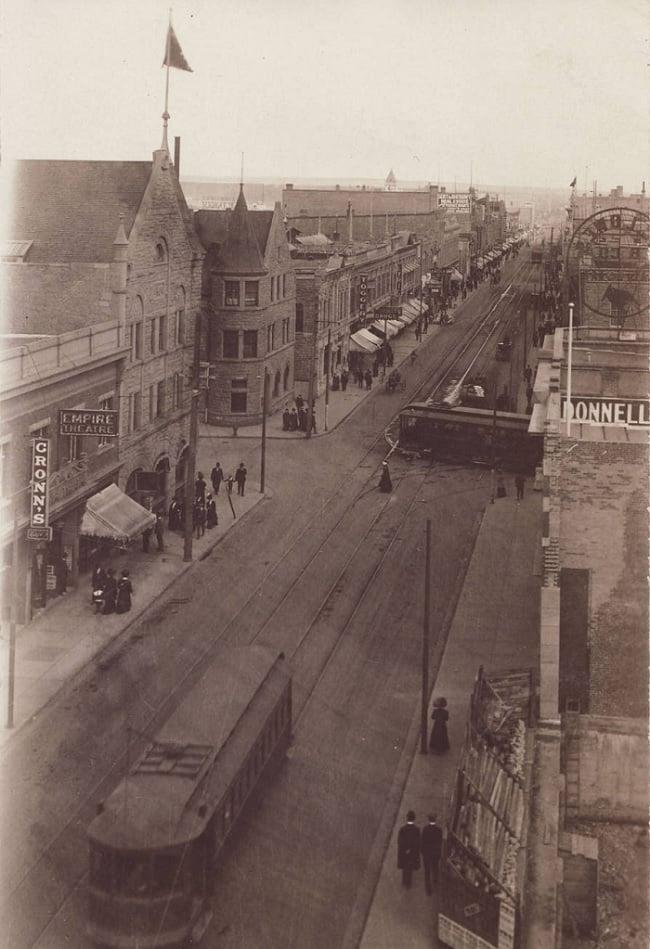 Historical Calgary streetcars