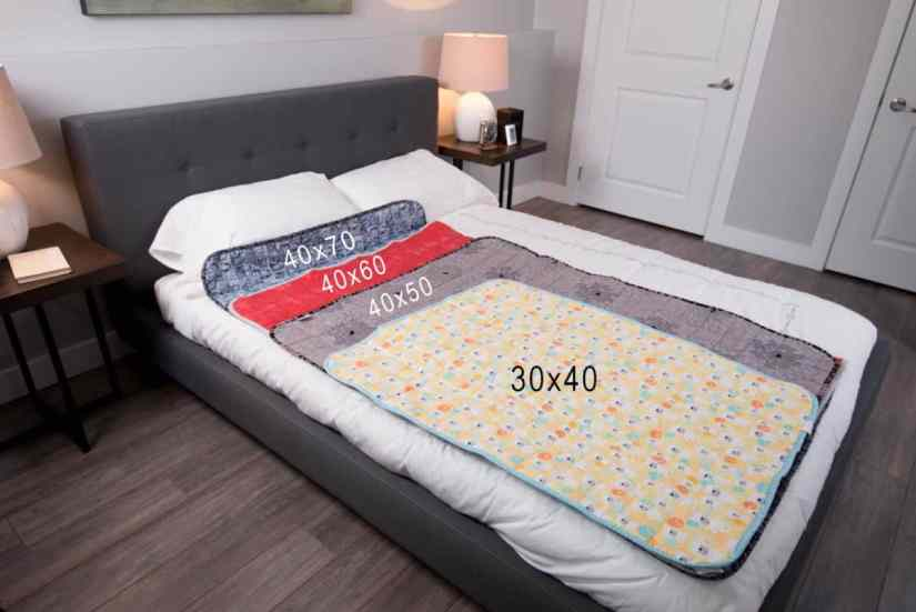 Weighted Blanket sizes and shapes