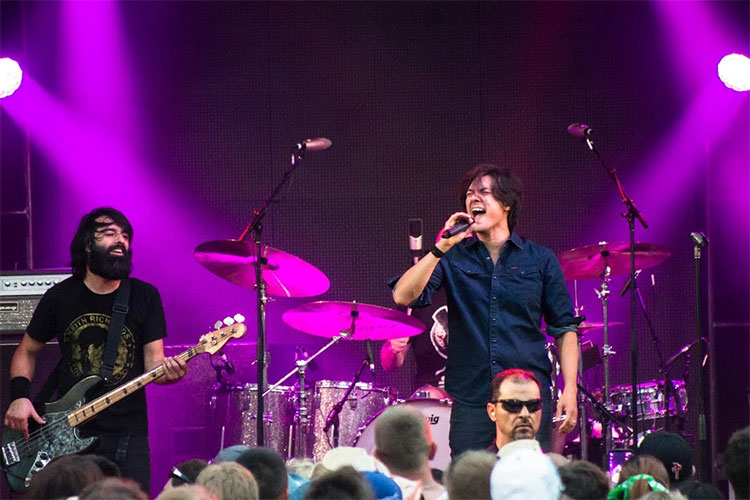 Calgary Stampede Moist Band Coke Stage 2015