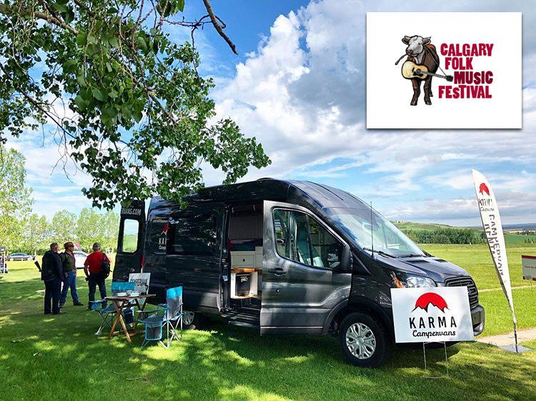 Karma Campervans Folk Fest 2019