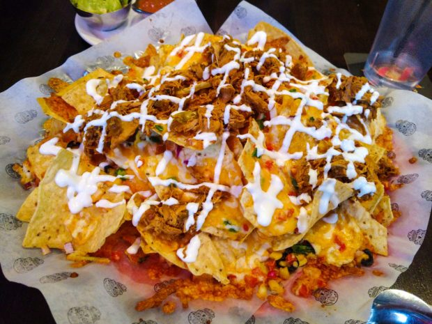 Best happy hours in Calgary Blanco Cantina Nachos