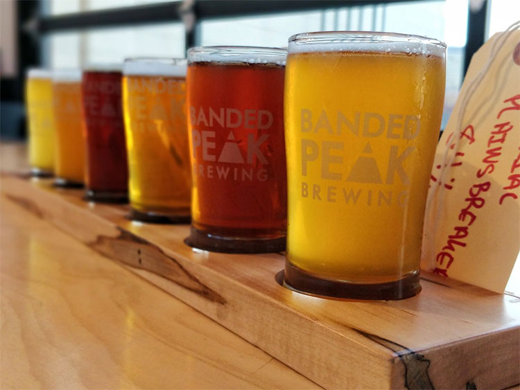 Banded Peak Brewing Beers