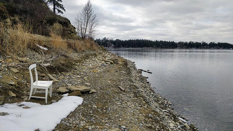 Fishing Glenmore Reservoir From Shore