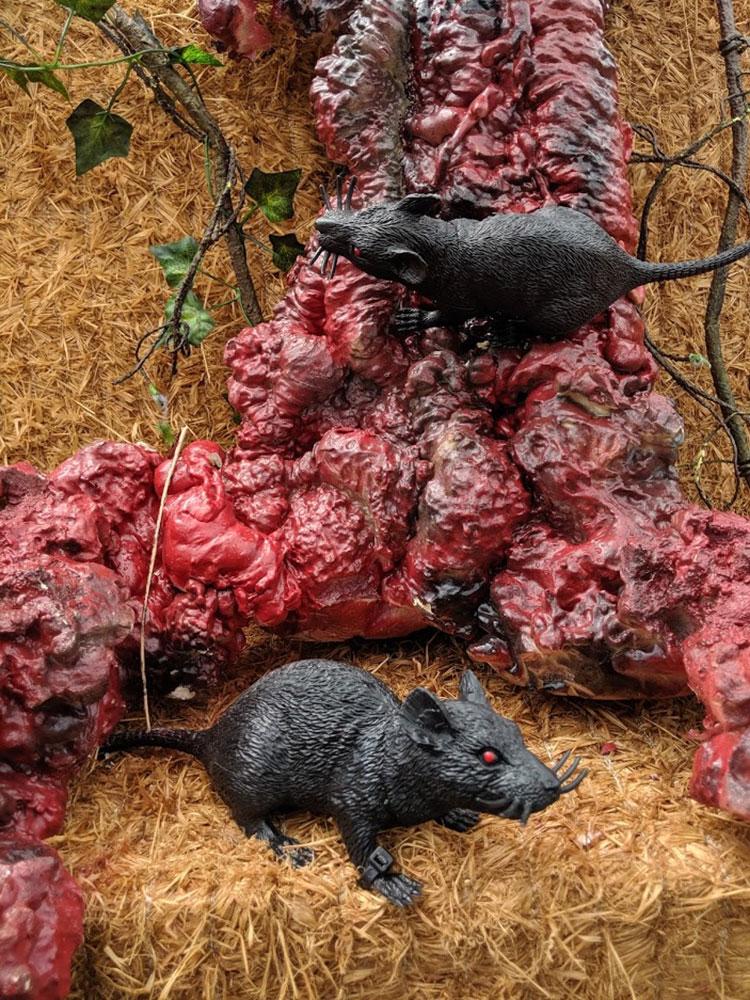 Stranger Things Calgary Stampede diseased rats