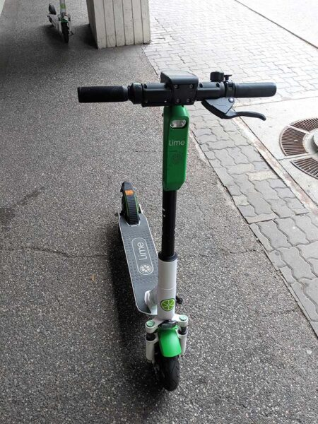 Lime Scooter, in Calgary