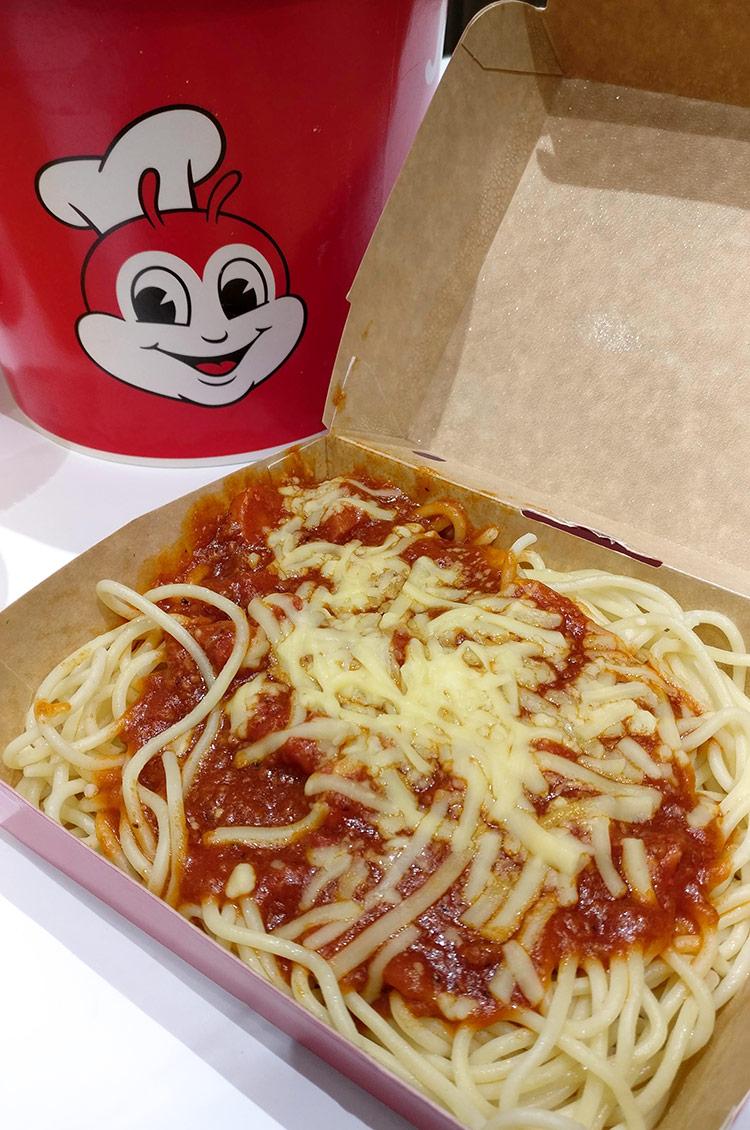 Jolibee Calgary Jolly Spaghetti