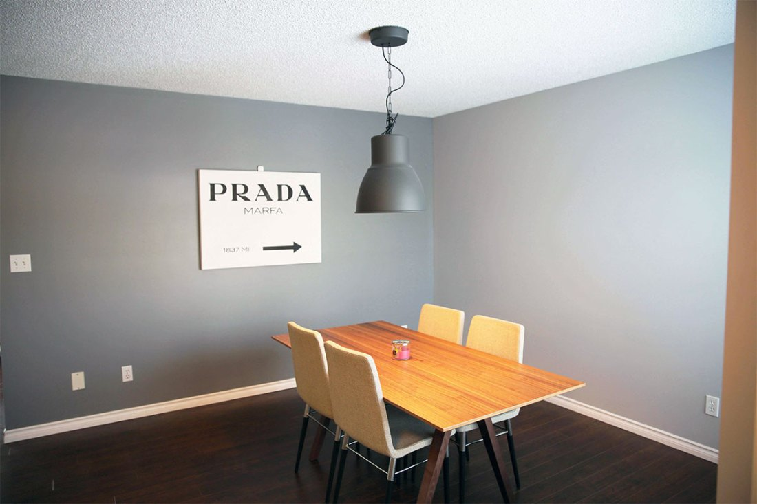 Lilac House Sherwood Park Contest dinning room