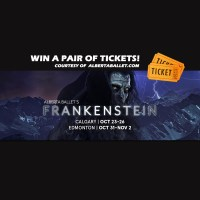 Win 2 Tickets To See Alberta Ballet's Frankenstein! (ENDED)
