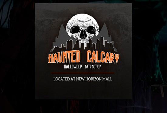 Haunted Calgary Now At New Horizon Mall (2019)