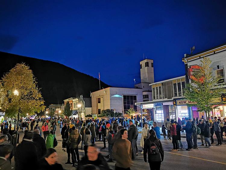 LUNA Art Festival Crowd