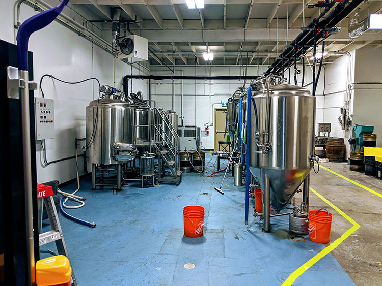 Outcast Brewing Brewery Stills