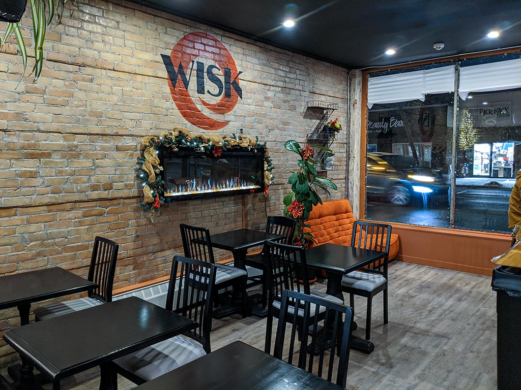 Wisk Cafe Front Room Seats