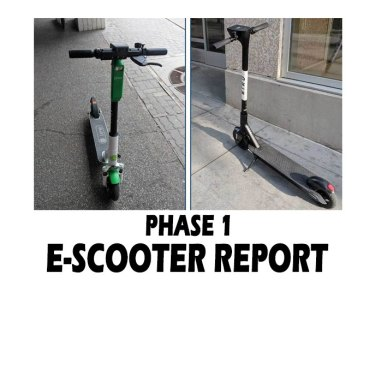 The City Released A Report On How The E-scooters Pilot Went