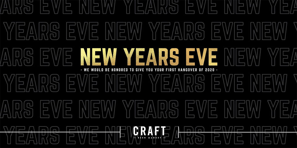 Things To do in Calgary for New Years Eve 2020 Craft Beer Market New Years Eve