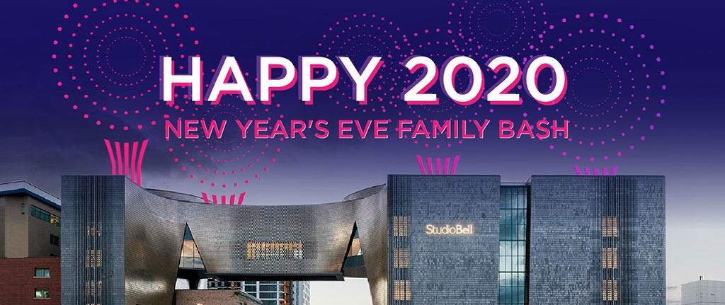 Things To do in Calgary for New Years Eve 2020 Studio Bell Family Bash