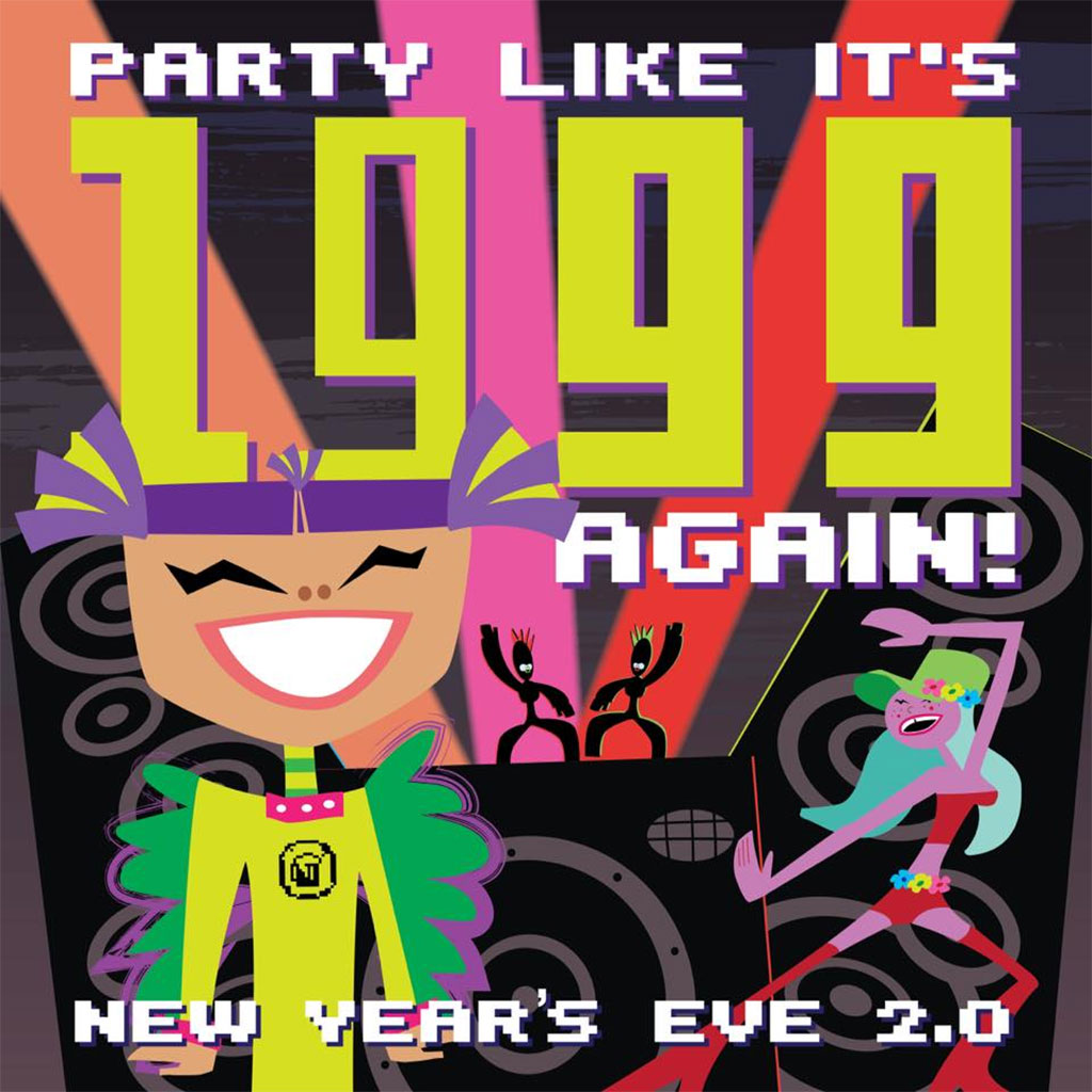 Things To do in Calgary for New Years Eve 2020 Revival Brewcade Party Like it's 1999