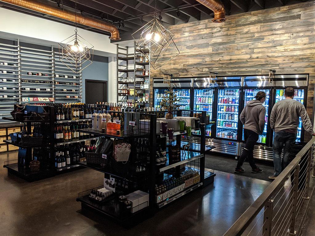 Alberta Beer Exchange Store and Wine Selection