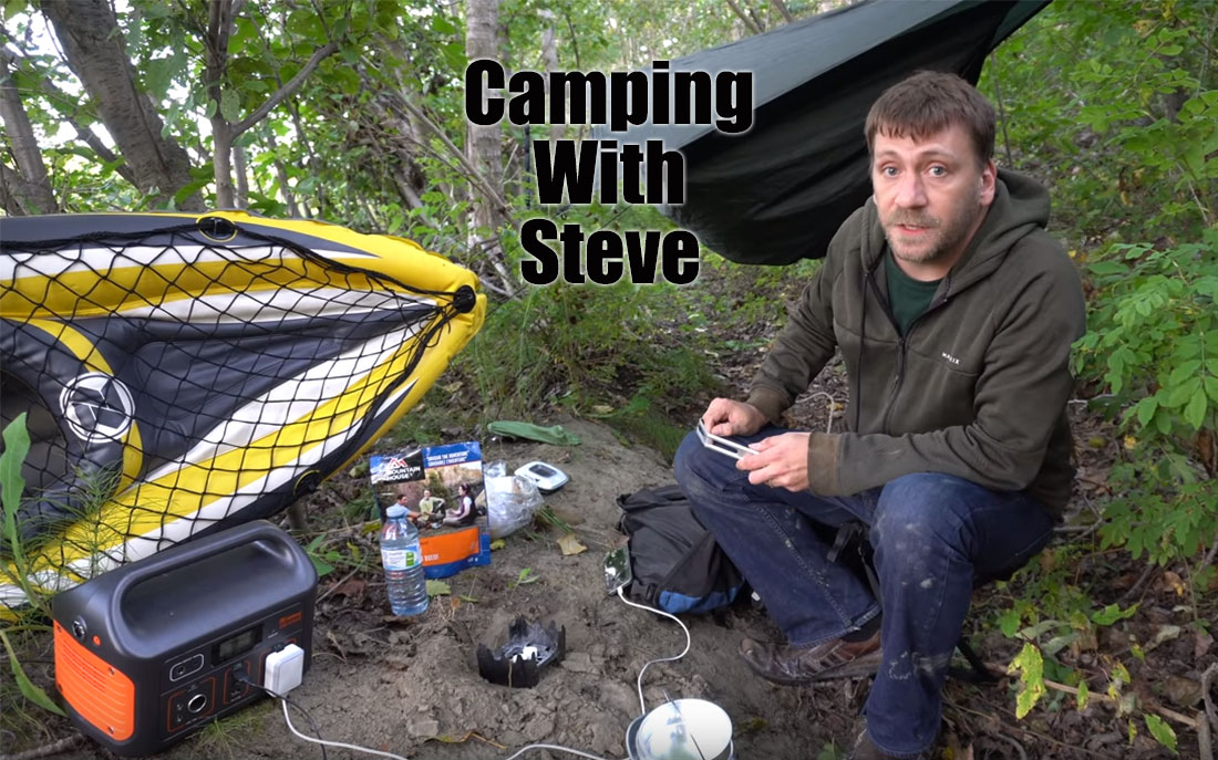 Camping With Steve Youtube