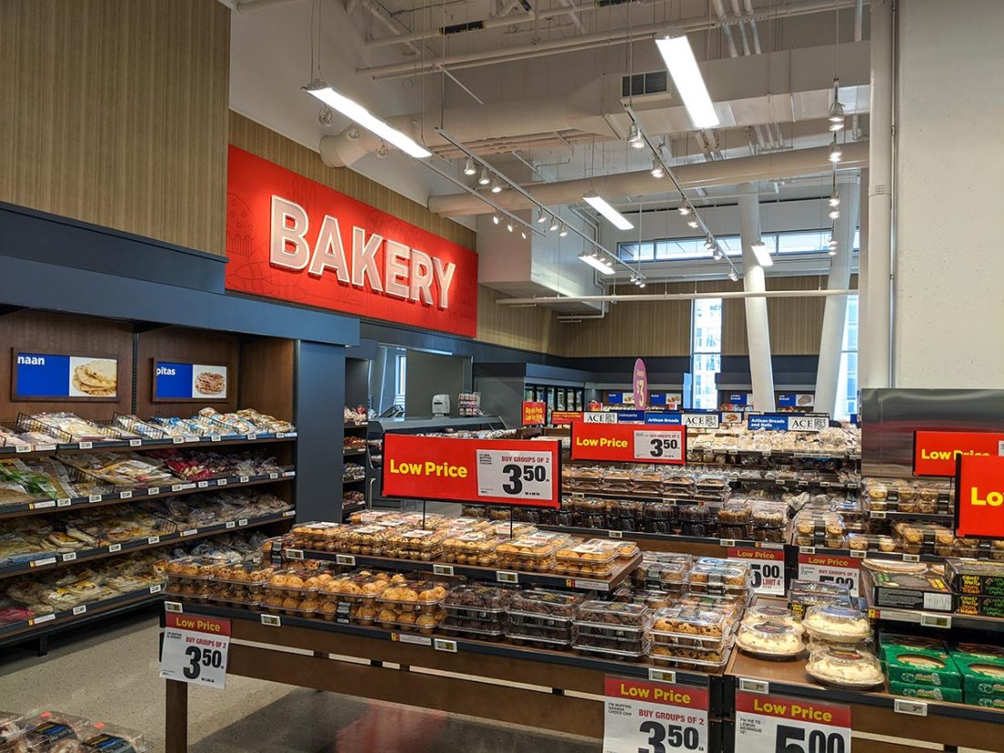 Real Canadian Superstore East Village in Calgary Bakery Donuts cakes bread products