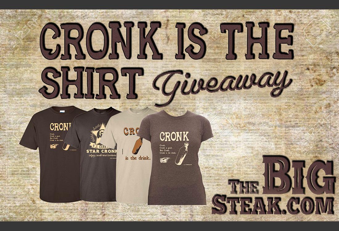 Win a Cronk T-shirt