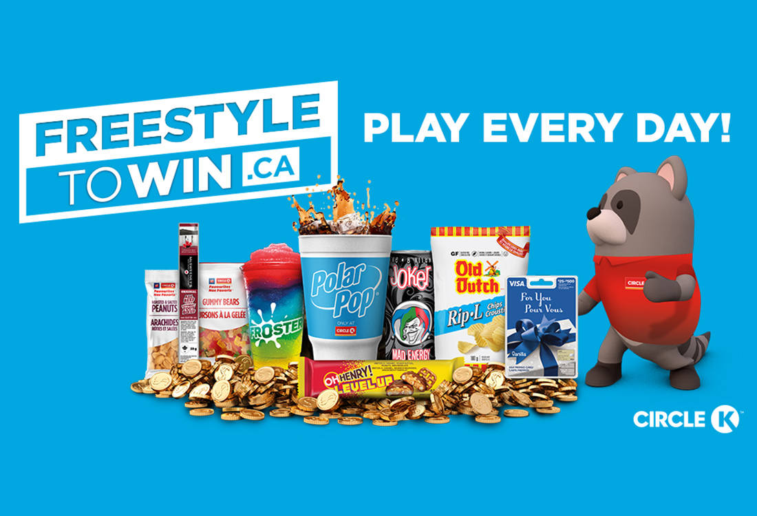 Guide: Circle K is back with another contest! Freestyletowin.ca your way into free food, drinks, and hopefully some cash prizes! Details inside.