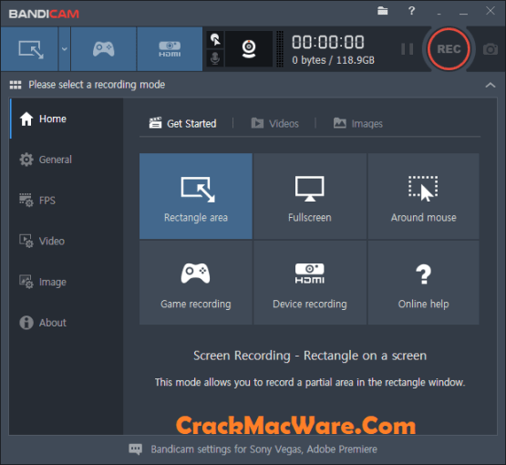 Bandicam 4.3 Crack