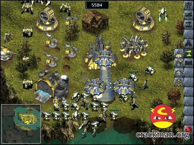 KKND 2 Kross Fire - game báo động đỏ Krush, Kill 'n' Destroy