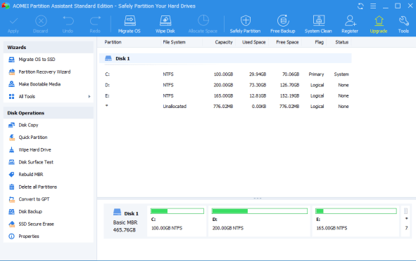 AOMEI Partition Assistant 9.2 Crack + Serial Key 2021 [Latest] Version