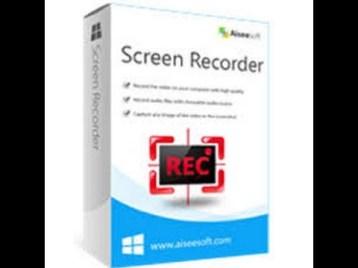 Aiseesoft Screen Recorder 2.2.52 Crack + Registration Code 2021 (Latest)