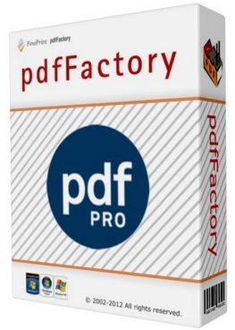 pdfFactory Pro 7.44 Crack + Registration Key 2021 (Full Free) Version