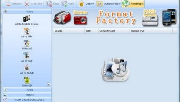 Formatfactory Portable Interface