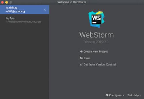 Webstorm Editor