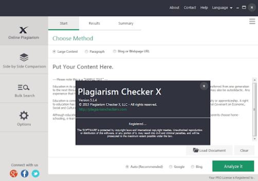 Plagiarism Checker X Turnitin