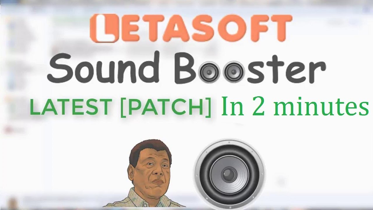 letasoft sound booster free product key