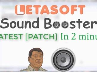 Letasoft Sound Booster 1.11 Build 512 Crack Download