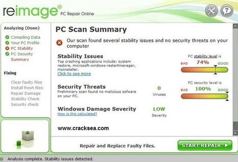 Reimage PC Repair 2020 Crack + License Key Free Download