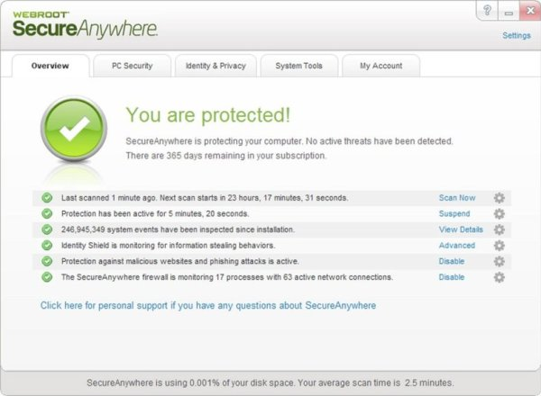 Webroot Secure Anywhere Antivirus Key & Crack 2020 Free Download