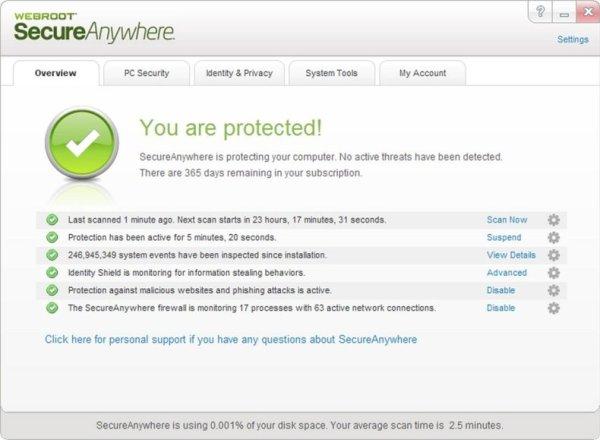 Webroot SecureAnywhere Antivirus 2021 Crack Full [Lifetime] Latest