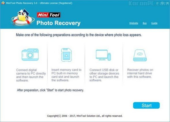 MiniTool Photo Recovery 3.0 Serial Key With Crack Full Download 2020