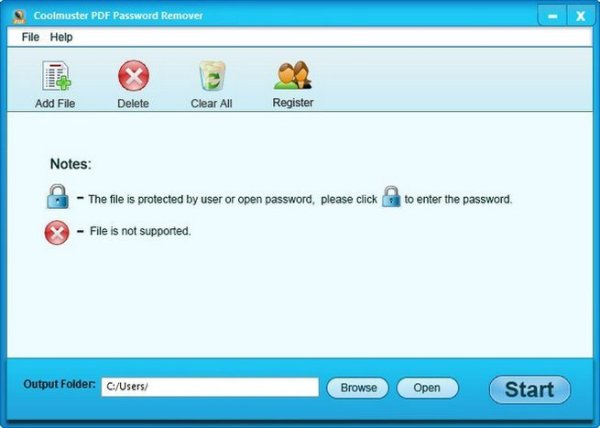 Coolmuster PDF Password Remover 2.1.9