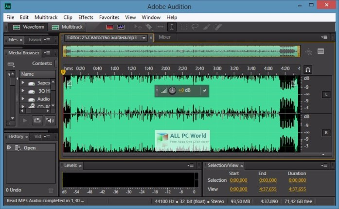 Adobe Audition CC 2018 v11.0.1.49 Full Version Free Download