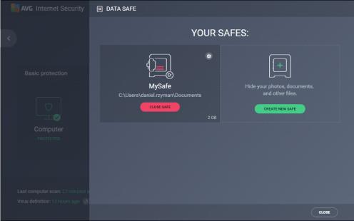 AVG Internet Security 2017 Screenshot 2