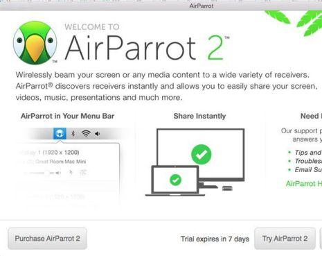AirParrot 2.7 Screenshot 1